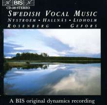 Swedish Vocal Music, CD