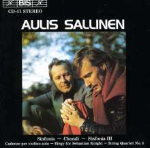 Aulis Sallinen (geb. 1935): Symphonien Nr.1 & 3, CD
