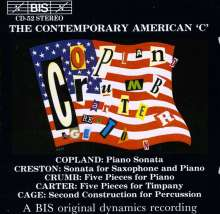 The Contemporary American 'C', CD