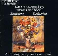 Hakan Hagegard singt Lieder, CD