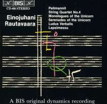 Einojuhani Rautavaara (geb. 1928): Streichquartett Nr.4, CD