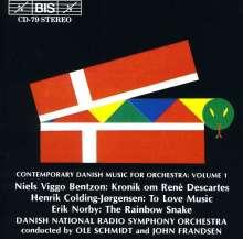 Zeitgenössische dän.Orchesterwerke Vol.1, CD