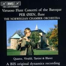 Per Oien spielt barocke Flötenkonzerte, CD