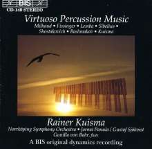 R.Kuisma - Marimba,Vibraphon,Percussion, CD