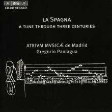 La Spagna - 32 Versionen des Liedes, CD