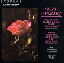 Wolfgang Amadeus Mozart (1756-1791): Klavierkonzert Nr.21 C-dur KV 467, CD