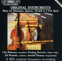 Clas Pehrsson spielt Blockflötenkonzerte, CD