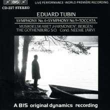 Eduard Tubin (1905-1982): Symphonien Nr.4 & 9, CD