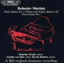 Bohuslav Martinu (1890-1959): Klaviersonate Nr.1, CD