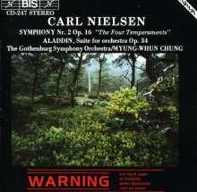 Carl Nielsen (1865-1931): Symphonie Nr.2, CD