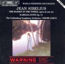 Jean Sibelius (1865-1957): Die Jungfrau im Turme (Oper in 1 Akt), CD