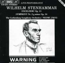 Wilhelm Stenhammar (1871-1927): Symphonie Nr.2, CD