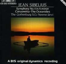 Jean Sibelius (1865-1957): Symphonie Nr.4, CD