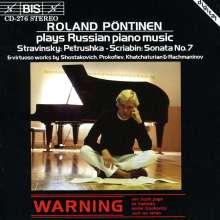 Roland Pöntinen spielt russische Klavierwerke, CD