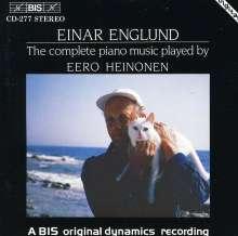 Einar Englund (geb. 1916): Sämtliche Klavierwerke, CD