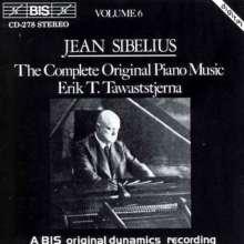 Jean Sibelius (1865-1957): Klavierwerke Vol.6, CD