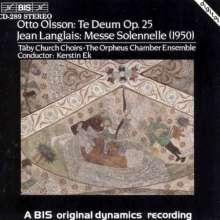 Otto Olsson (1879-1964): Te Deum op.25, CD