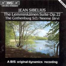 Jean Sibelius (1865-1957): Lemminkäinen-Legenden op.22 Nr.1-4, CD