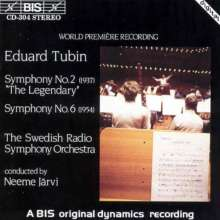 Eduard Tubin (1905-1982): Symphonien Nr.2 & 6, CD