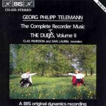 Georg Philipp Telemann (1681-1767): Sämtliche Werke für Blockflöte Vol.2, CD