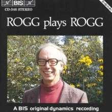 Lionel Rogg (geb. 1936): Orgelwerke, CD