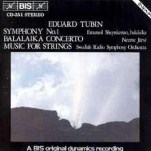 Eduard Tubin (1905-1982): Symphonie Nr.1, CD