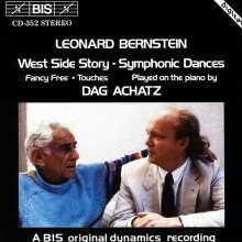 Leonard Bernstein (1918-1990): Klaviertranskriptionen, CD