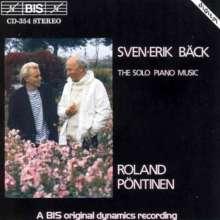 Sven-Erik Bäck (1919-1994): Klaviermusik, CD