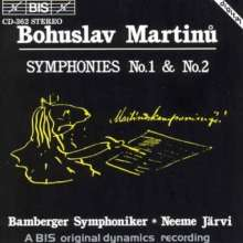 Bohuslav Martinu (1890-1959): Symphonien Nr.1 & 2, CD