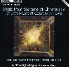 Musik am dän.Hofe zur Zeit Christian IV (1), CD