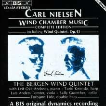 Carl Nielsen (1865-1931): Musik für Bläserensemble, CD