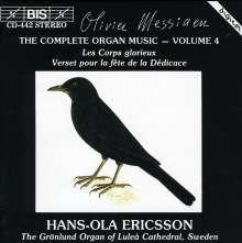 Olivier Messiaen (1908-1992): Orgelwerke Vol.4, CD