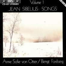 Jean Sibelius (1865-1957): Lieder Vol.1, CD