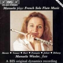 Manuela Wiesler - Franz.Musik f.Flöte solo, CD