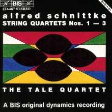 Alfred Schnittke (1934-1998): Streichquartette Nr.1-3, CD