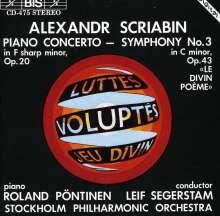 Alexander Scriabin (1872-1915): Symphonie Nr.3, CD