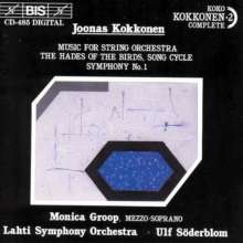 Joonas Kokkonen (1921-1996): Symphonie Nr.1, CD