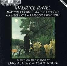 Maurice Ravel (1875-1937): Werke f.2 Klaviere, CD