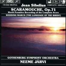 Jean Sibelius (1865-1957): Scaramouche op.71, CD