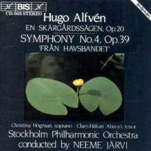 Hugo Alfven (1872-1960): Symphonie Nr.4, CD