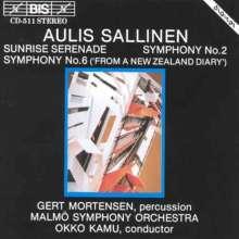 Aulis Sallinen (geb. 1935): Symphonien Nr.2 & 6, CD
