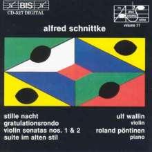 Alfred Schnittke (1934-1998): Sonaten für Violine & Klavier Nr.1 & 2, CD