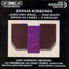 Joonas Kokkonen (1921-1996): Sinfonia da camera, CD