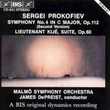 Serge Prokofieff (1891-1953): Symphonie Nr.4 (Fassung 1947), CD