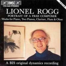 Lionel Rogg (geb. 1936): Klavier- und Kammermusik, CD