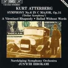 "Kurt Atterberg (1887-1974): Symphonie Nr.6 ""Dollarsymfonin"", CD"