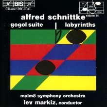 Alfred Schnittke (1934-1998): Gogol-Suite, CD