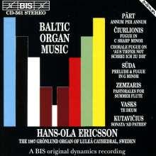 Hans-Ola Ericsson - Baltische Orgelmusik, CD