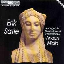 Erik Satie (1866-1925): Werke für Gitarre, CD