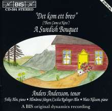 Anders Andersson - A Swedish Bouquet, CD